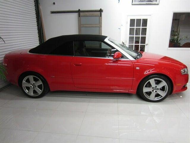 2009 Audi A4 2.0T FrontTrak Cabriolet FWD