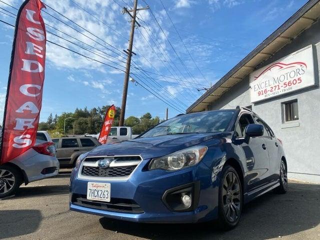 2012 Subaru Impreza 2.0i Sport Limited Hatchback