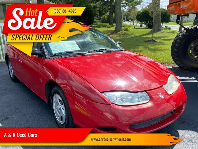 2001 Saturn S-Series 3 Dr SC1 Coupe