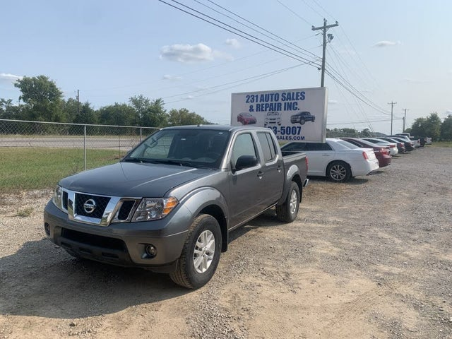 2018 Nissan Frontier SV V6 Crew Cab 4WD