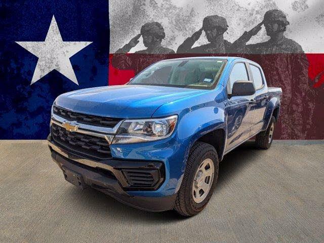 2021 Chevrolet Colorado Work Truck Crew Cab RWD