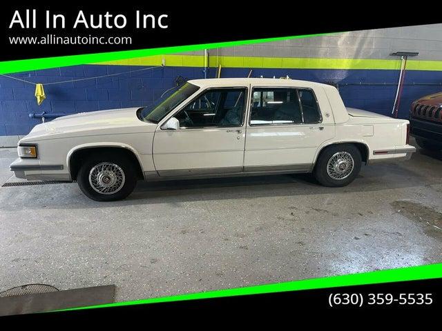 1987 Cadillac Fleetwood Sixty Special Sedan FWD