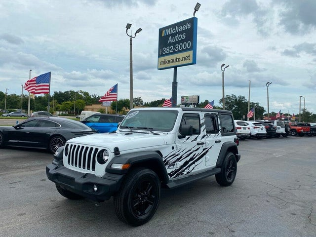 2020 Jeep Wrangler Unlimited Altitude 4WD