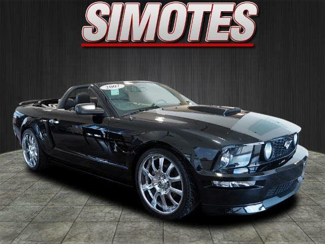 2007 Ford Mustang GT Premium Convertible RWD