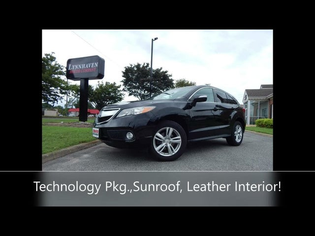2014 Acura RDX FWD with Technology Package