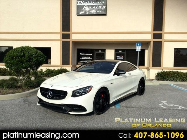 2015 Mercedes-Benz S-Class Coupe S 65 AMG