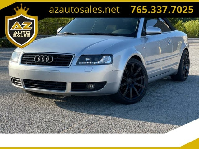 2003 Audi A4 1.8T Turbo Cabriolet FWD