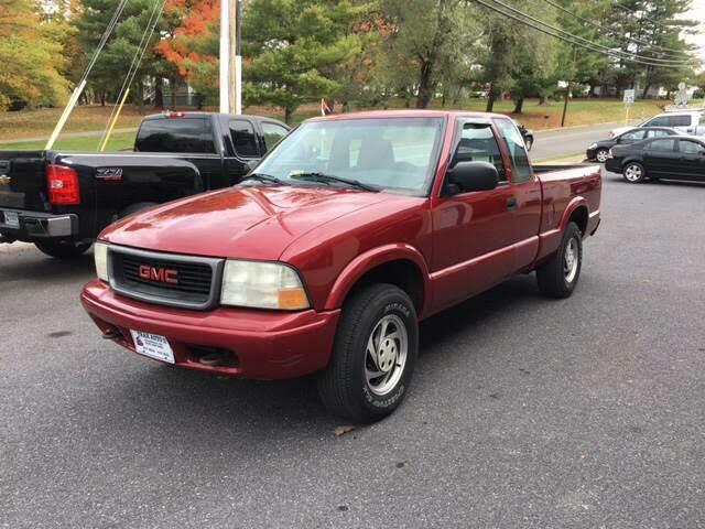 2002 GMC Sonoma SL Ext Cab 4WD