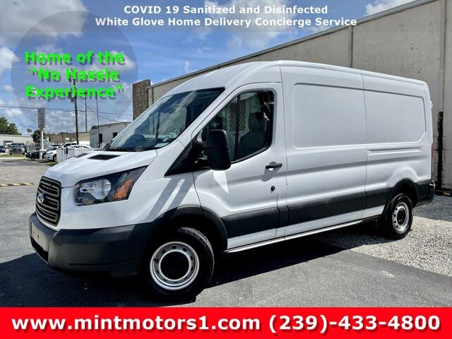 2018 Ford Transit Cargo 350 3dr LWB Medium Roof Cargo Van with Sliding Passenger Side Door