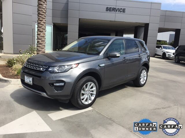 2017 Land Rover Discovery Sport HSE