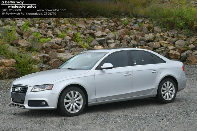 2012 Audi A4 2.0T quattro Premium Sedan AWD