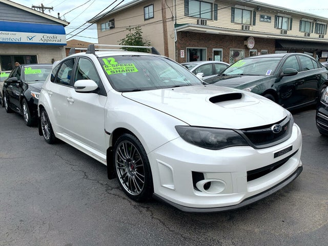 2012 Subaru Impreza WRX STI Hatchback AWD