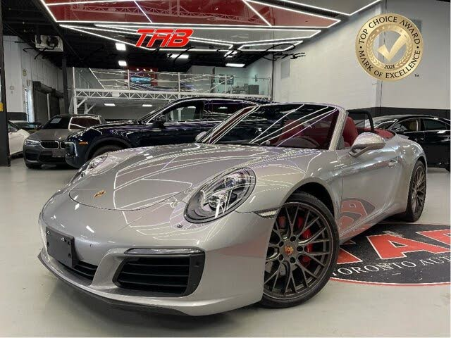 2017 Porsche 911 Carrera S Cabriolet RWD
