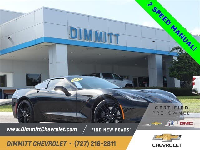 2019 Chevrolet Corvette Stingray Z51 1LT Coupe RWD