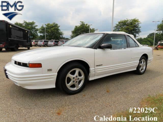 1994 Oldsmobile Cutlass Supreme 2 Dr STD Convertible