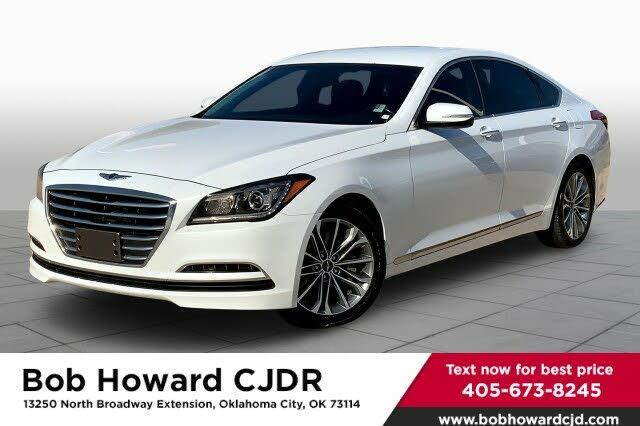 2016 Hyundai Genesis 3.8 RWD