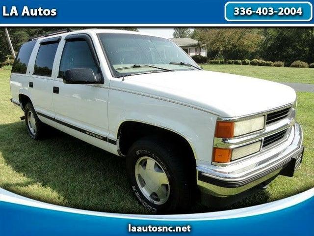 1999 Chevrolet Tahoe LT 4-Door 4WD