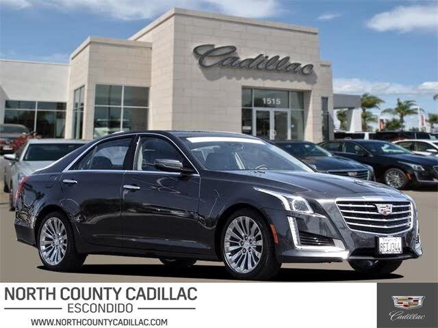 2018 Cadillac CTS 2.0T Luxury RWD