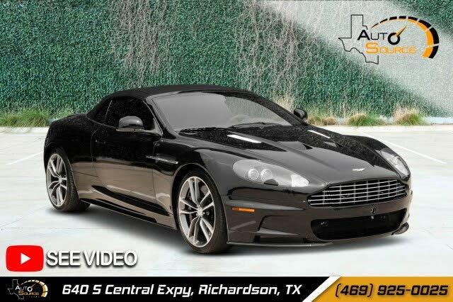 2011 Aston Martin DBS Volante Convertible RWD