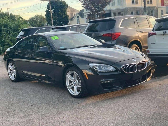 2015 BMW 6 Series 640i xDrive Gran Coupe AWD