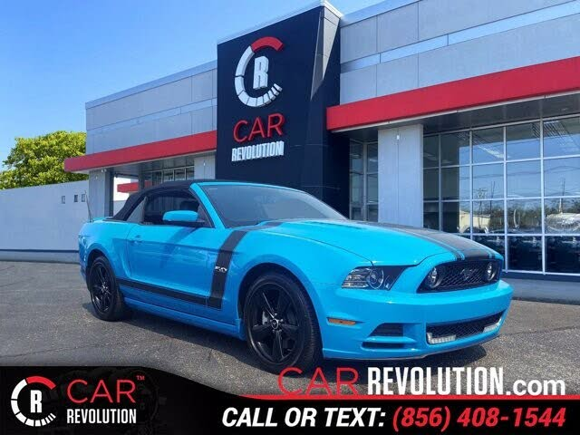 2013 Ford Mustang GT Convertible RWD