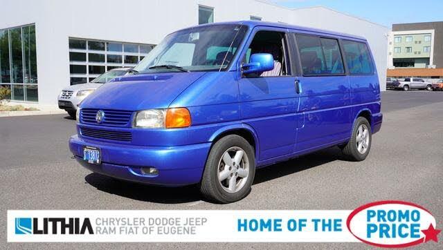 2001 Volkswagen EuroVan 3 Dr GLS Passenger Van