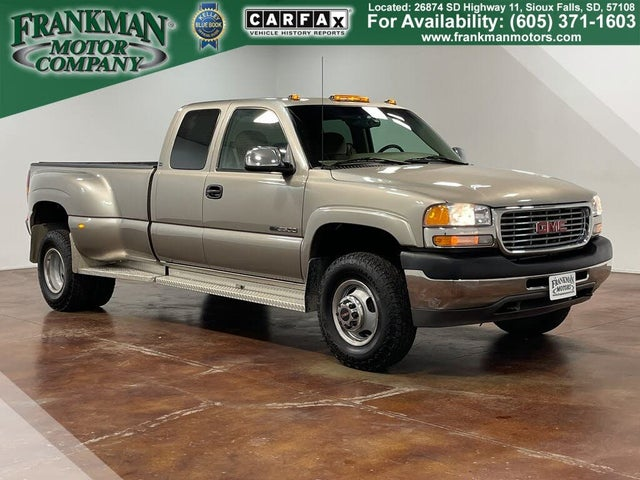 2002 GMC Sierra 3500 4 Dr SLE 4WD Extended Cab LB