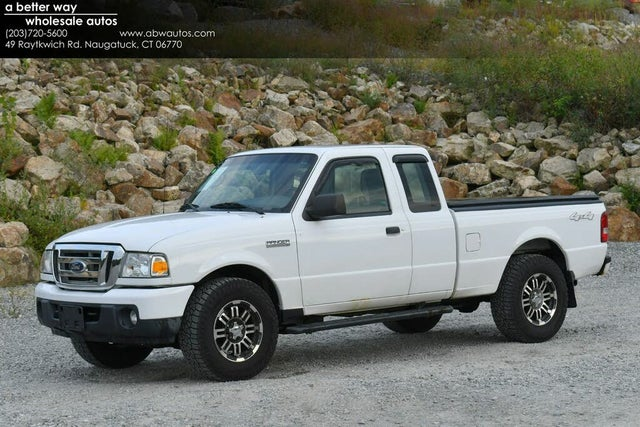 2011 Ford Ranger XLT SuperCab 4-Door 4WD