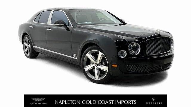 2016 Bentley Mulsanne Speed RWD