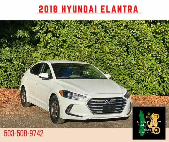 2018 Hyundai Elantra Eco Sedan FWD