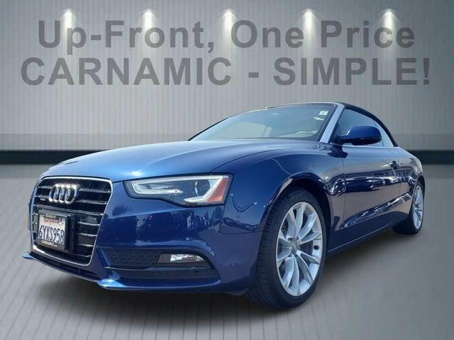 2013 Audi A5 2.0T quattro Premium Plus Cabriolet AWD