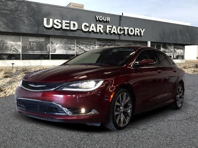 2016 Chrysler 200 C Sedan FWD