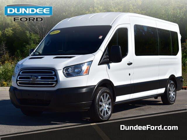 2019 Ford Transit Passenger 350 XLT LWB RWD with Sliding Passenger-Side Door