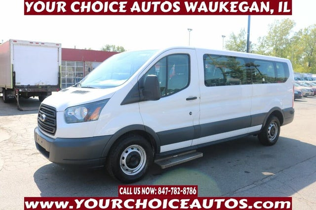2016 Ford Transit Passenger 350 XL Low Roof LWB RWD with 60/40 Passenger-Side Doors