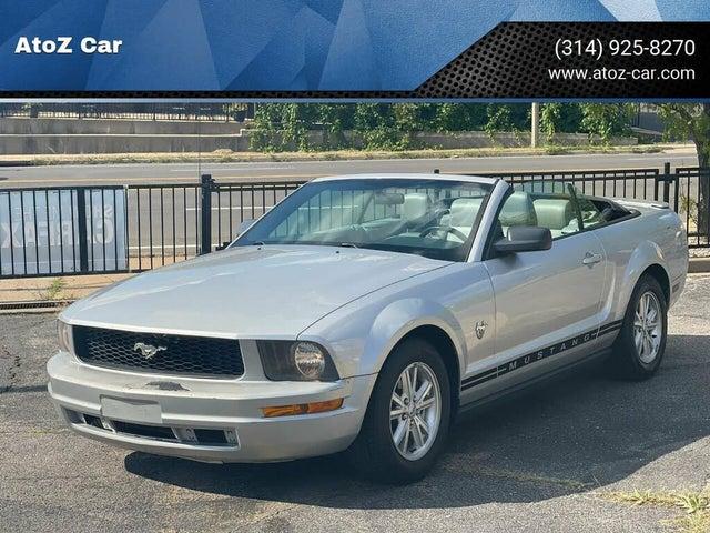 2009 Ford Mustang V6 Premium Convertible RWD