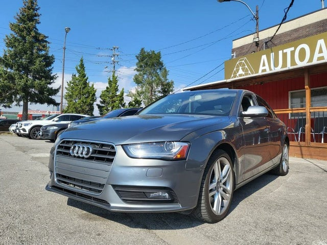2013 Audi A4 2.0T quattro Premium AWD