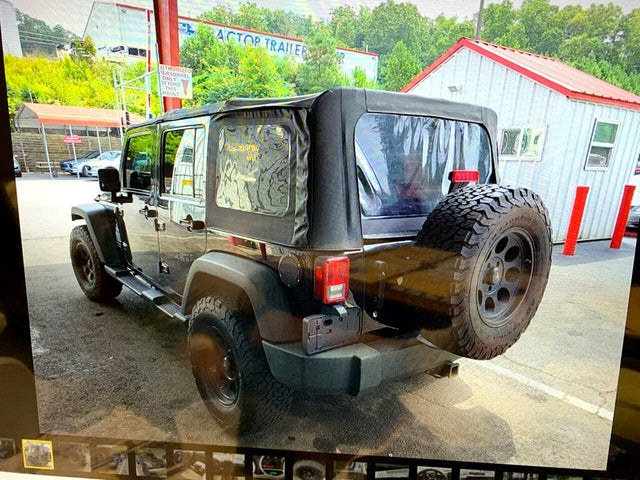 2008 Jeep Wrangler Unlimited Rubicon 4WD
