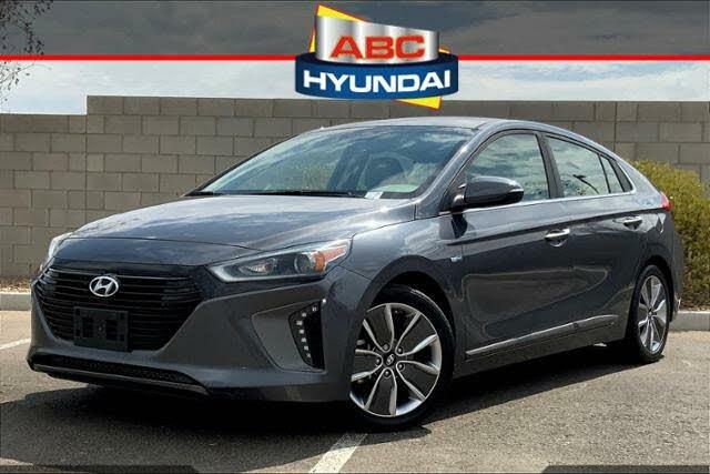 2017 Hyundai Ioniq Hybrid Limited Hatchback FWD