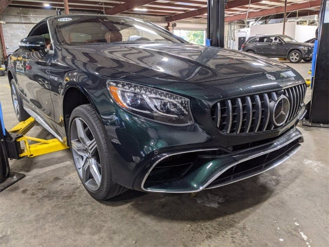 2019 Mercedes-Benz S-Class Coupe S 63 AMG 4MATIC Cabriolet AWD