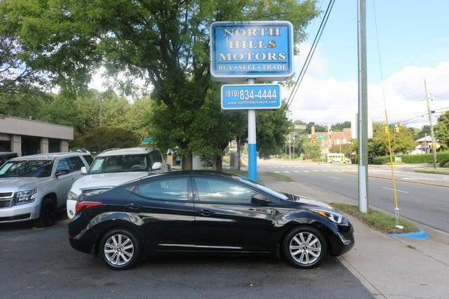 2014 Hyundai Elantra SE Sedan FWD