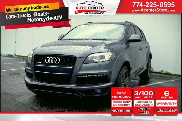2013 Audi Q7 3.0 TDI quattro Prestige AWD