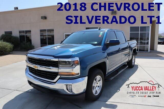 2018 Chevrolet Silverado 1500 LT Crew Cab RWD