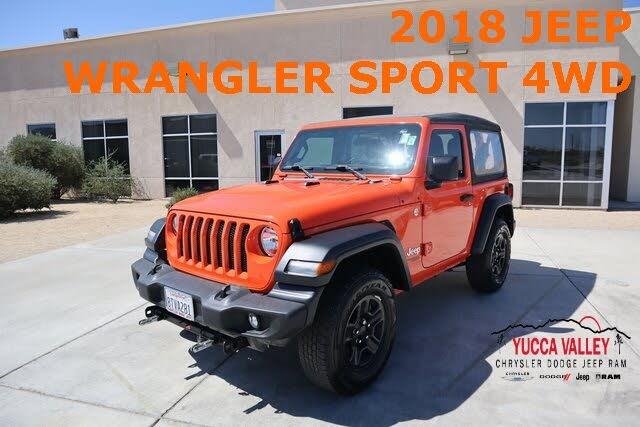 2018 Jeep Wrangler Sport 4WD