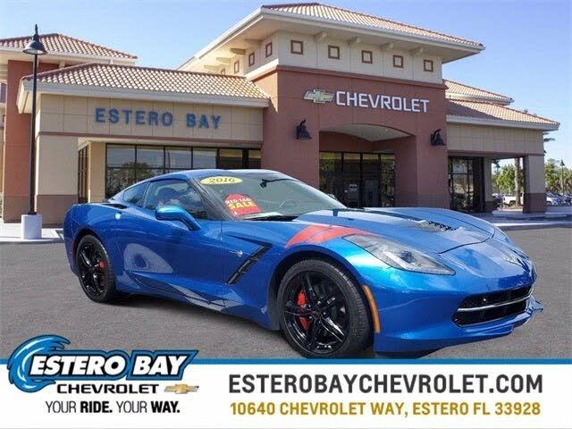 2016 Chevrolet Corvette Stingray 2LT Coupe RWD
