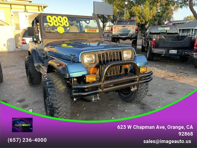 1993 Jeep Wrangler 4WD