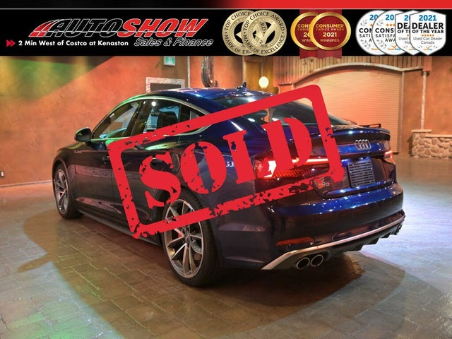 2018 Audi S5 Sportback 3.0T quattro Technik AWD