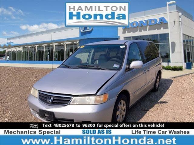 2004 Honda Odyssey EX-L FWD with DVD