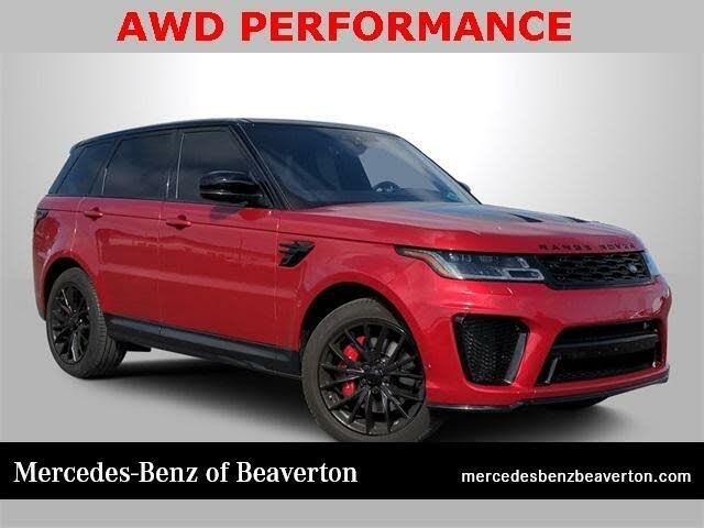 2019 Land Rover Range Rover Sport V8 SVR 4WD