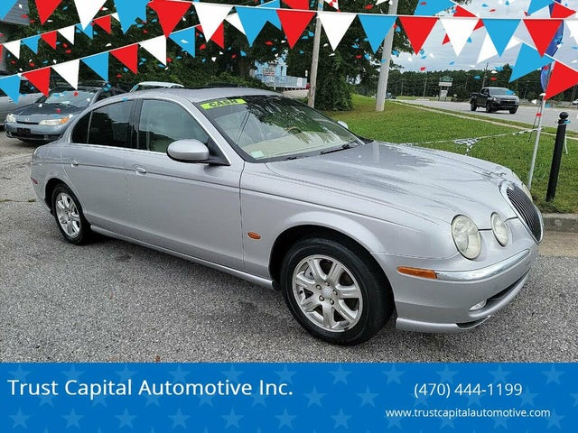 2004 Jaguar S-TYPE 3.0L V6 RWD