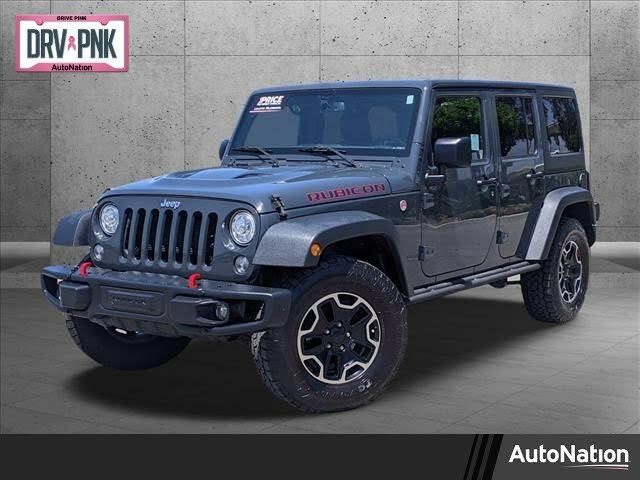 2017 Jeep Wrangler Unlimited Rubicon Hard Rock 4WD